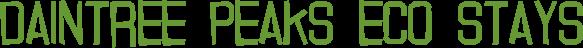 Daintree Peaks Eco Stays